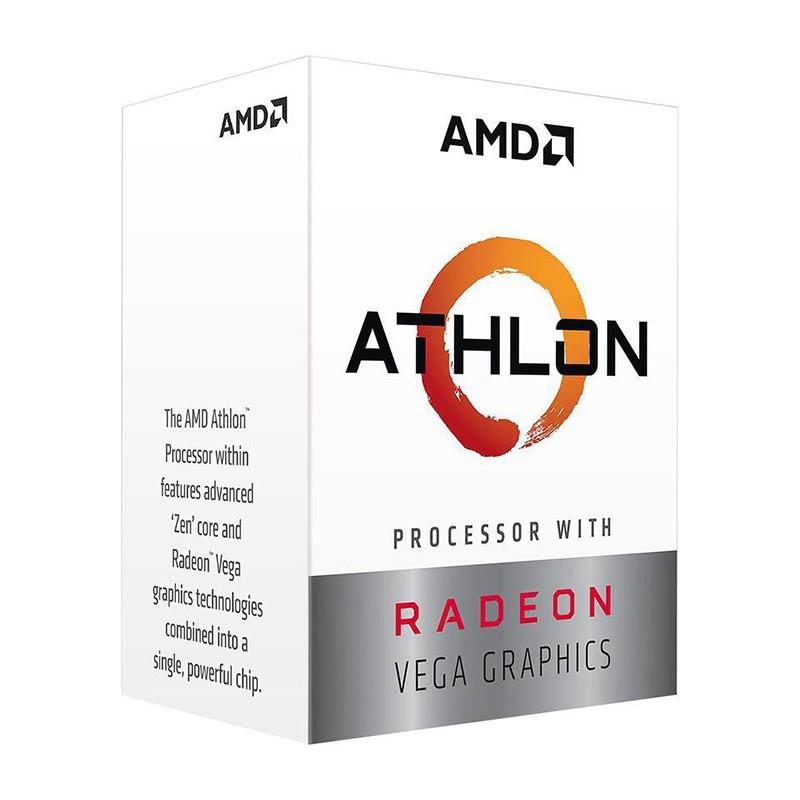AMD ATHLON 200GE/3.2/VEGA3/AM4-41136
