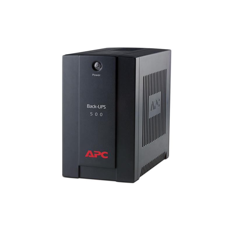 APC Back-UPS 500VA,AVR, IEC-44528