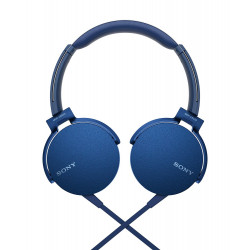 Sony Headset MDR-XB550AP, blue-46282