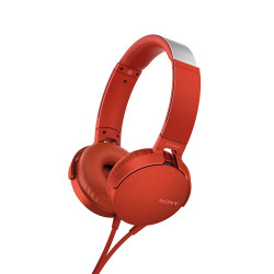 Sony Headset MDR-XB550AP, red-46283