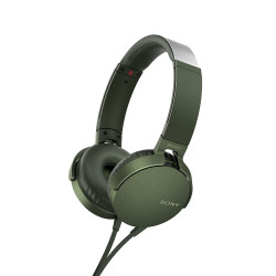 Sony Headset MDR-XB550AP, green-46285