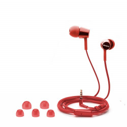 Sony Headset MDR-EX155AP, red-46302