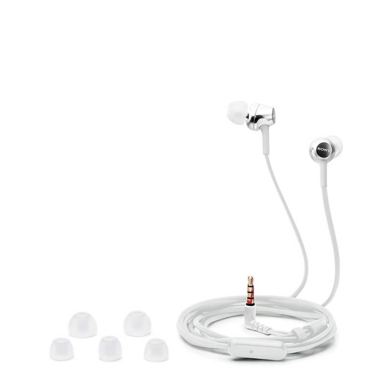 Sony Headset MDR-EX155AP, white-46303
