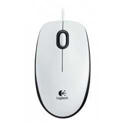 Logitech Mouse M100 White-49022