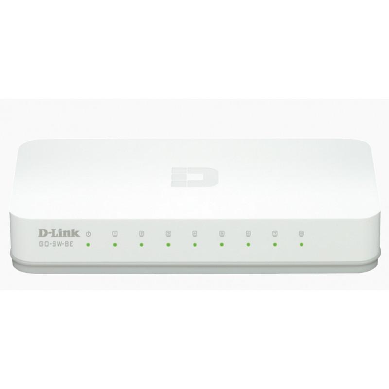 D-Link 8-Port 10/100M Desktop-49563