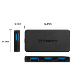 USB 3.0 4-портов хъб-50413