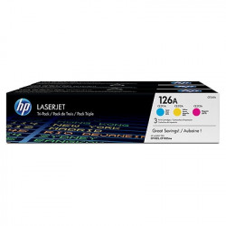 HP 126A Cyan/Magenta/Yellow Tri-pack-51726
