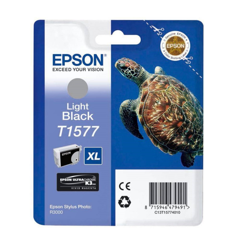 Epson T1577 Light Black-52921