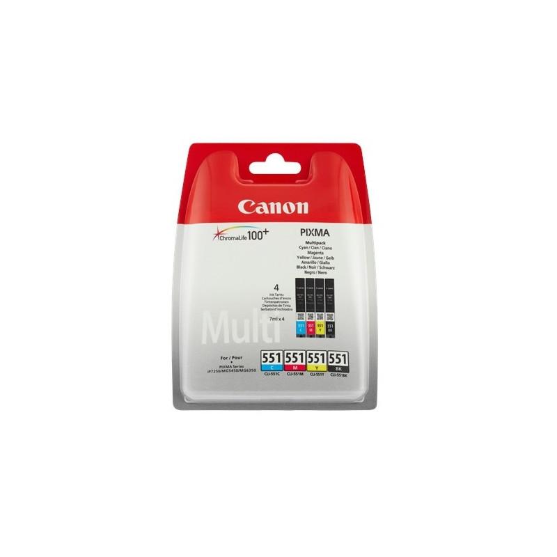 Canon CLI-551 CMYB Multipack-53503
