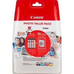 Canon CLI-581 XL C/M/Y/BK-53538