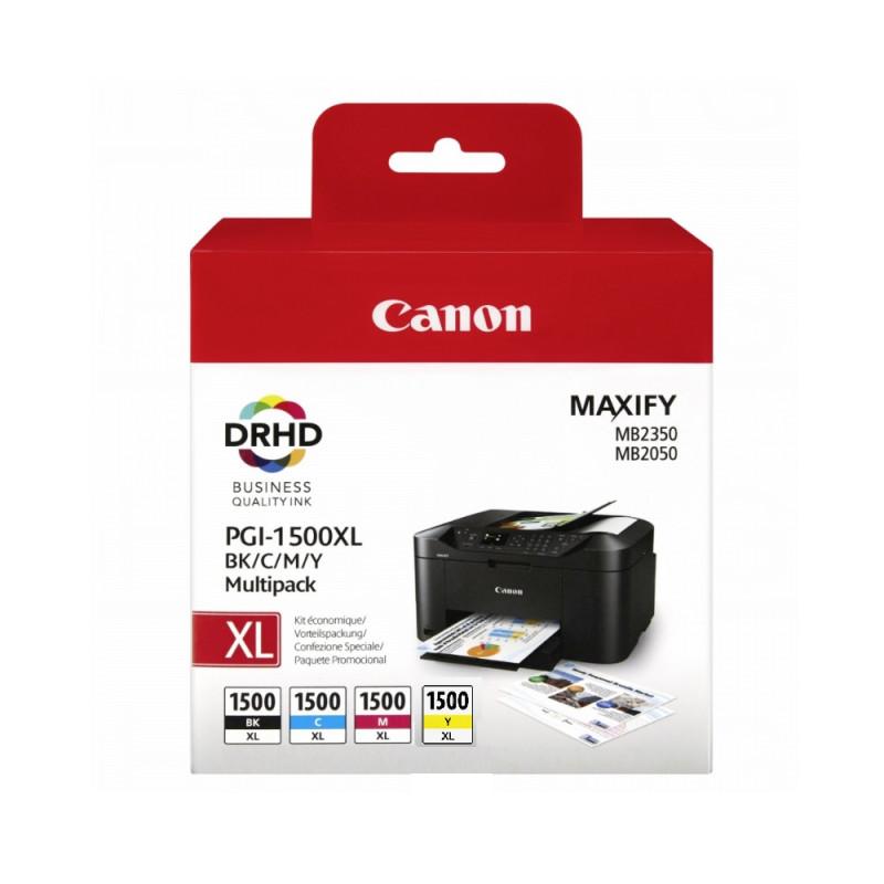 Canon PGI-1500XL BK/C/M/Y Multi-Pack-53601