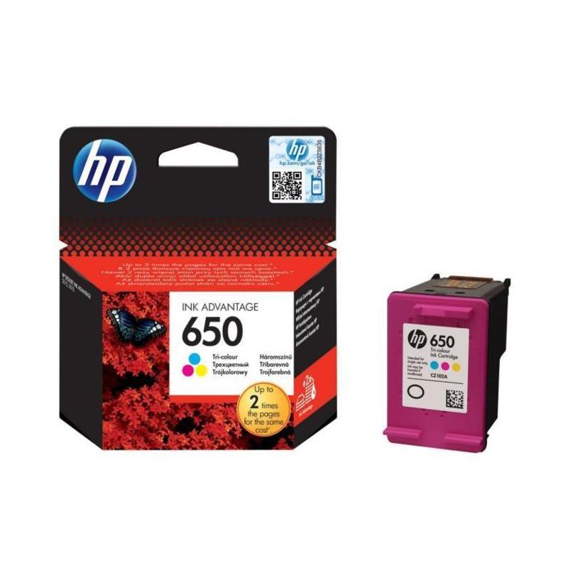 HP 650 Tri-color Ink-53950