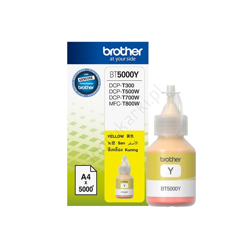 Brother BT-5000 Yellow Ink-54488