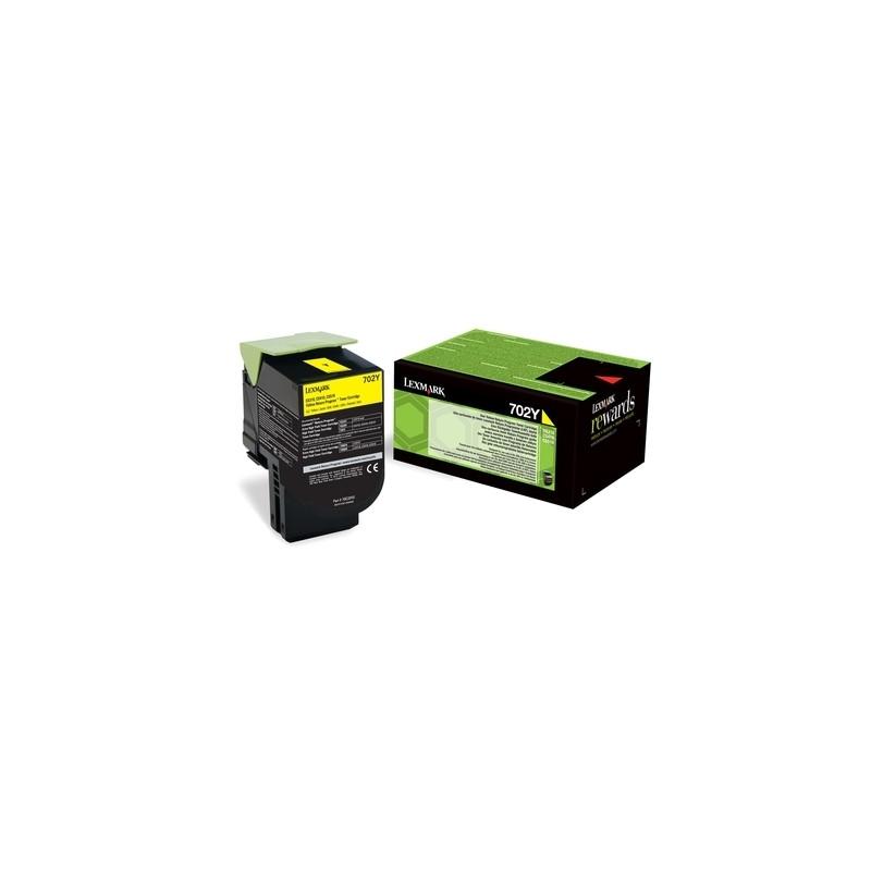 Lexmark 702Y Yellow Return-54772