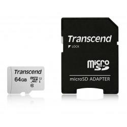 Transcend 64GB microSD UHS-I-55066