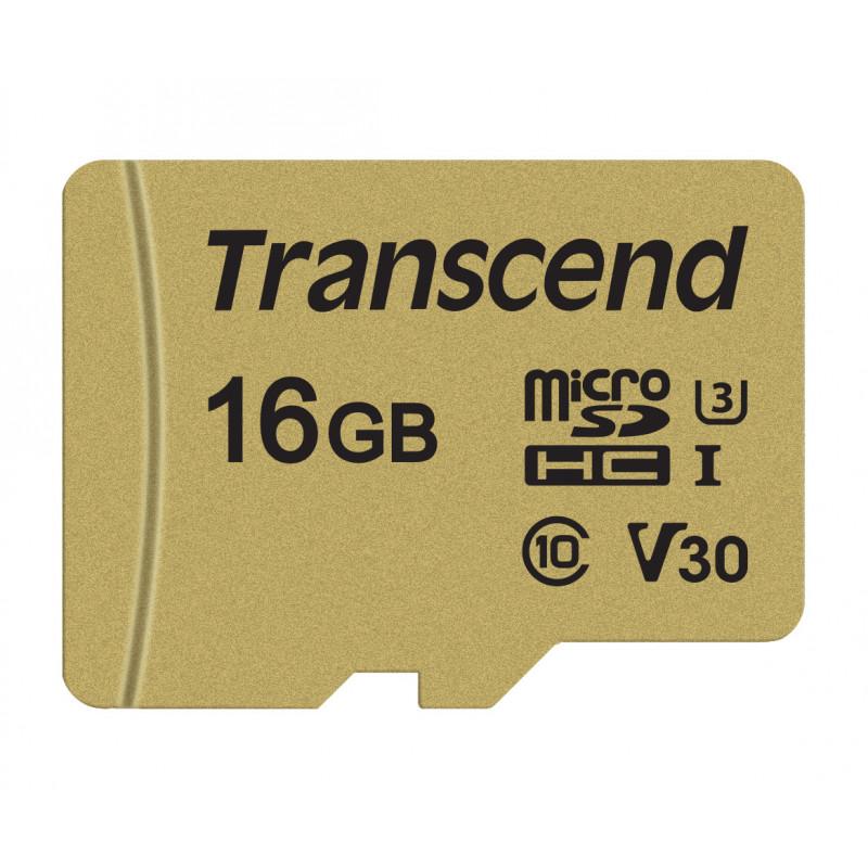 Памет Transcend 16GB microSDHC-55112