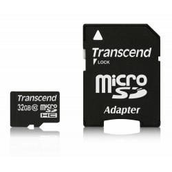 Transcend 32GB microSDHC (with-55136