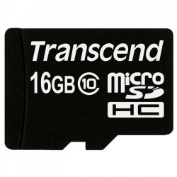 Transcend 16GB micro SDHC-55193