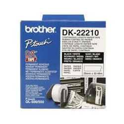 Brother DK-22210 Roll White-76519