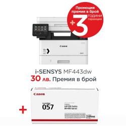 Canon i-SENSYS MF443dw Printer/Scanner/Copier-87536